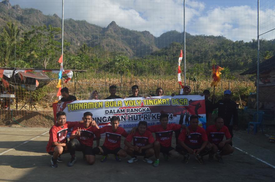 Image : Turnamen Bola Voli Perayaan HUT RI Ke-74 Tahun 2019